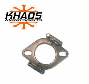 "2.25/"" 2-1//4/"" inch Exhaust Flange Flat Oval Split Repair Replacement"