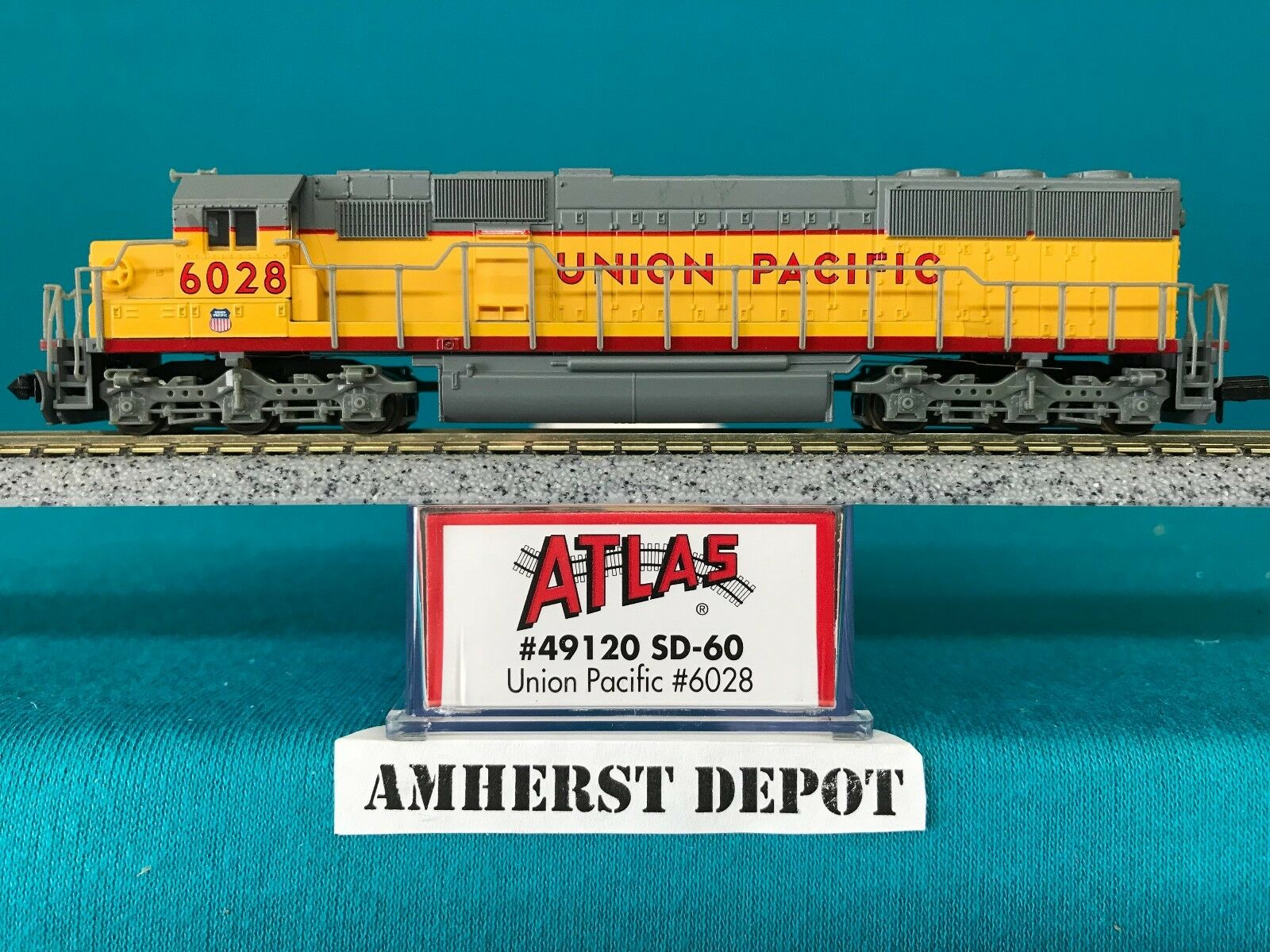 49120 Union Pacific SD-60 DCC Equipped Atlas N Scale Scale Scale NIB 8c9d0b