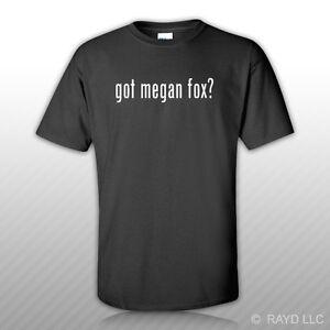 Got-Megan-Fox-T-Shirt-Tee-Shirt-Gildan-Free-Sticker-S-M-L-XL-2XL-3XL-Cotton