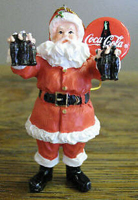 "Coca-Cola Ornament Limited Edition BRAND NEW /""Merry Christmas to You"" Santa NIB"