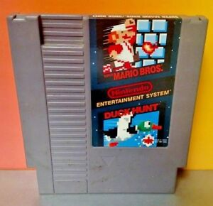 Super-Mario-Bros-Duck-Hunt-Nintendo-NES-JEU-RARE-teste-Authentique