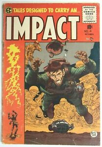 IMPACT-4-GOLDEN-AGE-COMICS-1955-E-C-AN-ENTERTAINMENT-COMIC-JACK-DAVIS