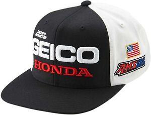 100-Geico-Honda-podium-Ajustable-Casquette-Homme