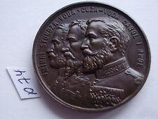 Romania scares brass medal 40 mm anniversary University Mihailene