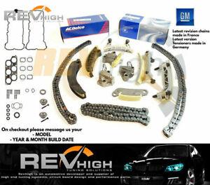 Details about GENUINE GM GEARS GASKET V6 Holden Commodore VZ VE Timing  Chain Kit Set Alloytec