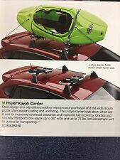 2006-2017 Subaru Outback WRX Impreza Forester OEM Kayak Carrier SOA567K010 Thule