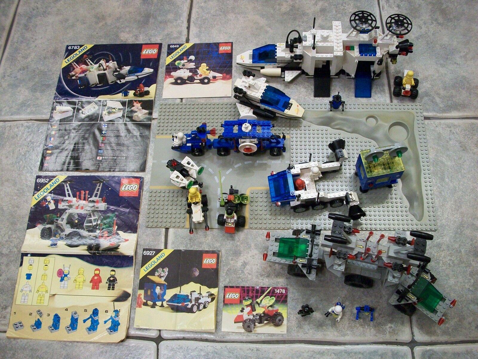 Antiguo Lote De Espacio De Lego 6952 energía solar transporter 6783 6927 6883 1478 6849 Fig