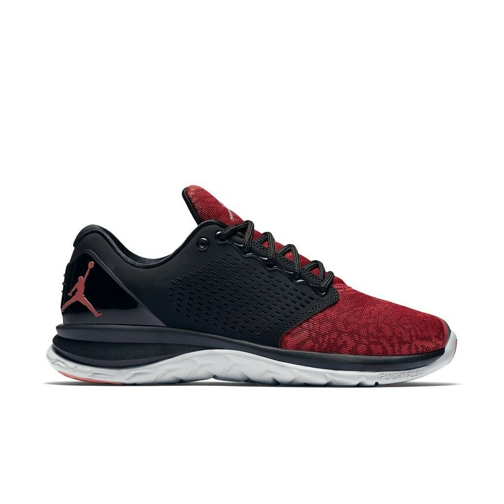 Men's Nike Jordan Trainer St Athletic Running Fashion Sneakers 820253 002 Red Comfortable and good-looking