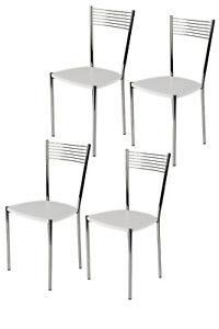 Tommychairs-Sedia-cucina-Elegance-in-acciaio-cromato-e-seduta-in-legno