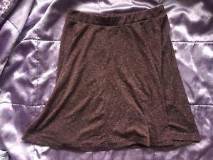 Flippy Jersey Skirt Skater Topshop Burgundy 8 ZwXtwaq5