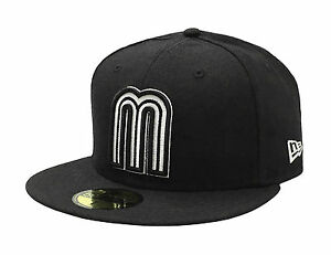New Era 59Fifty Cap Mexico World Baseball Classic Fitted Hat - Black/White