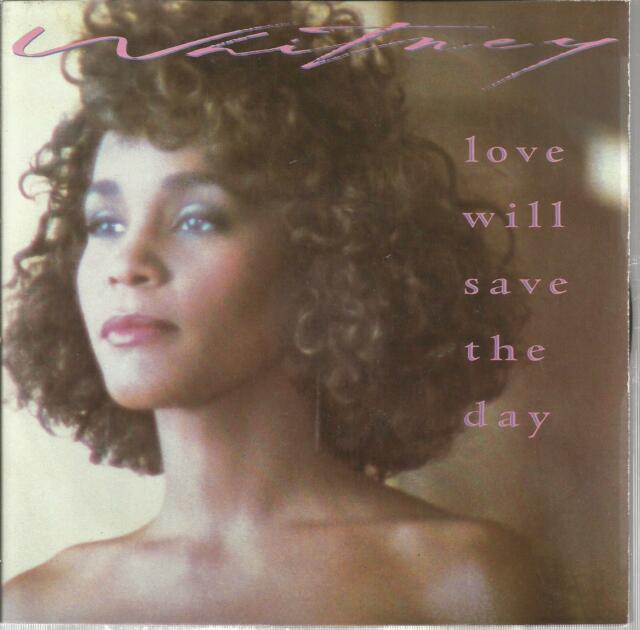 45 TOURS 2 TITLES / WHITNEY HOUSTON LOVE WILL SAVE THE DAY B9