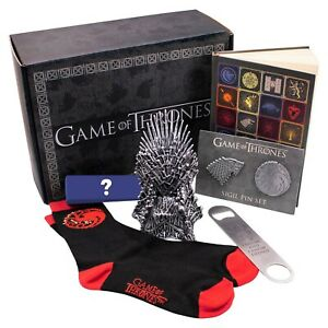 Game-Of-Thrones-Target-Exclusive-Culturefly-Box-SEALED-Socks-Pins-Vinyl-Season-8
