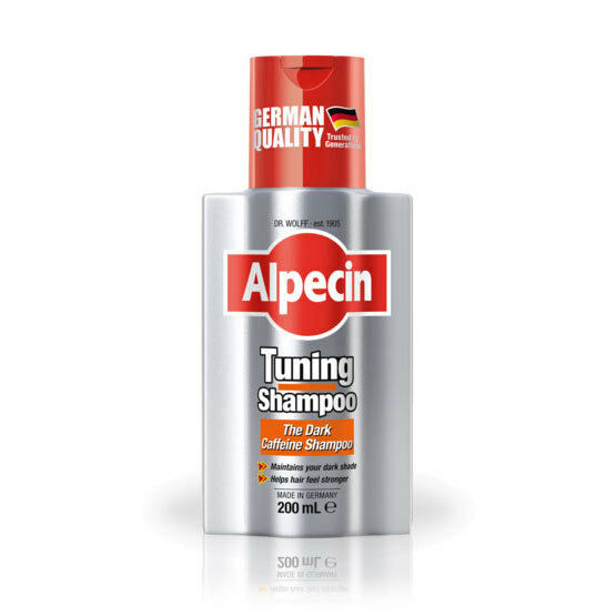 ALPECIN TUNING SHAMPOO 200ML DARK CAFFEINE MAINTAIN DARK STRONG HAIR