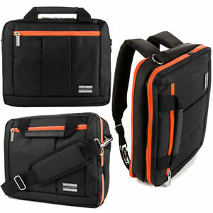 Image Is Loading 17 Inch Laptop Backpack Messenger Shoulder Bag For