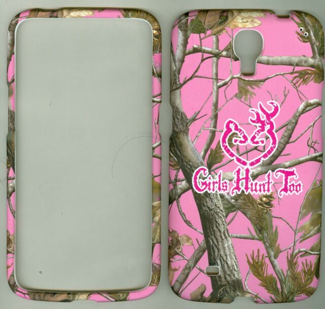 Pink Girls camo mossy Hard Case Cover For Samsung Galaxy Mega 6.3 I9200 (Sprint)