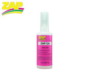 ZAP CA PT-07 THIN CYANOACRYLATE Adhesive Glue - Super Fast Curing 2oz (56.6g)