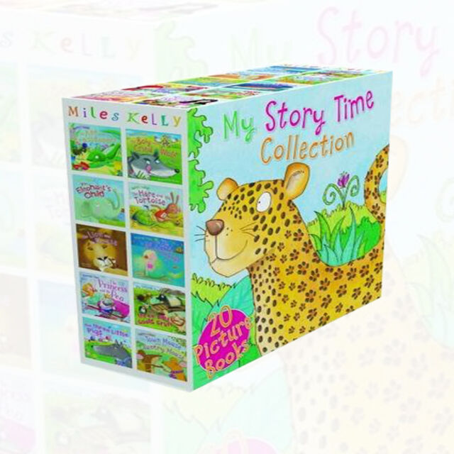Miles Kelly My Story Time Collection 20 Picture Books Box Children Gift Pack NEW