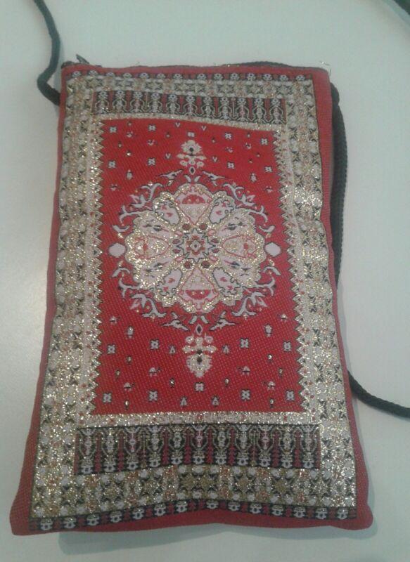 Herzhaft Handtasche Indien Medium Türkische/marroqui Mit Henkel De 11cm Für 16cm Attraktives Aussehen