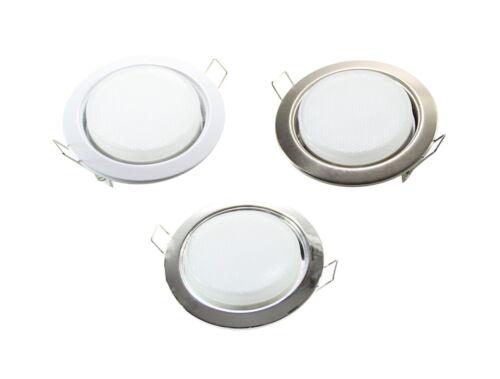 LED GX53 Spot Einbauleuchte Einbaustrahler Metall SET 230V Decke Einbau Strahler