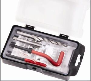 Car Thread Repair Kit M10X 1.25 X13.5MM Auto Tool Helical Coil Set 15Pc US SHIP