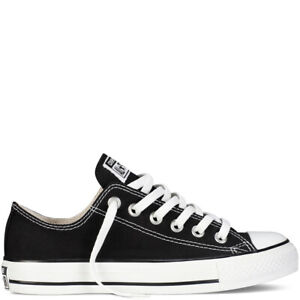 Details zu Converse Chuck Taylor All Star low Gr.46 Herren Canvas Sneaker  schwarz Chucks
