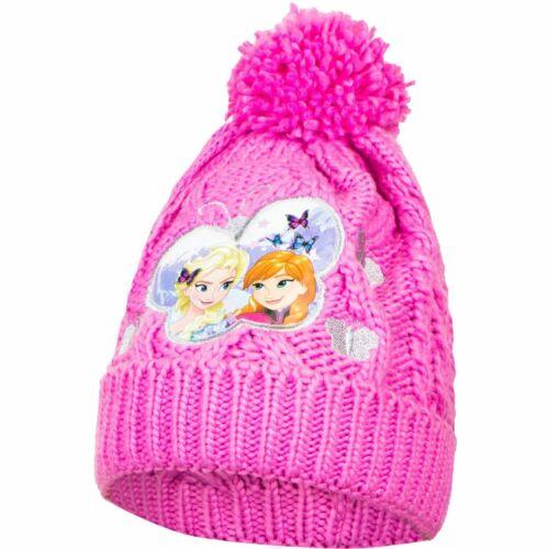 Die Eiskönigin Mädchen Winter Mütze Strickmütze  Anna /& Elsa Disney Frozen
