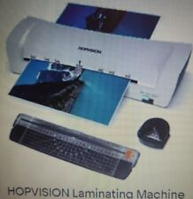 Hopvision Laminating Machine For Home Office School Use 9 Inches Small Hot Cold