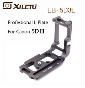Xiletu-LB-5D3L-Special-Quick-Release-Plate-L-Bracket-Tripod-amp-Ball-Head-For-Canon