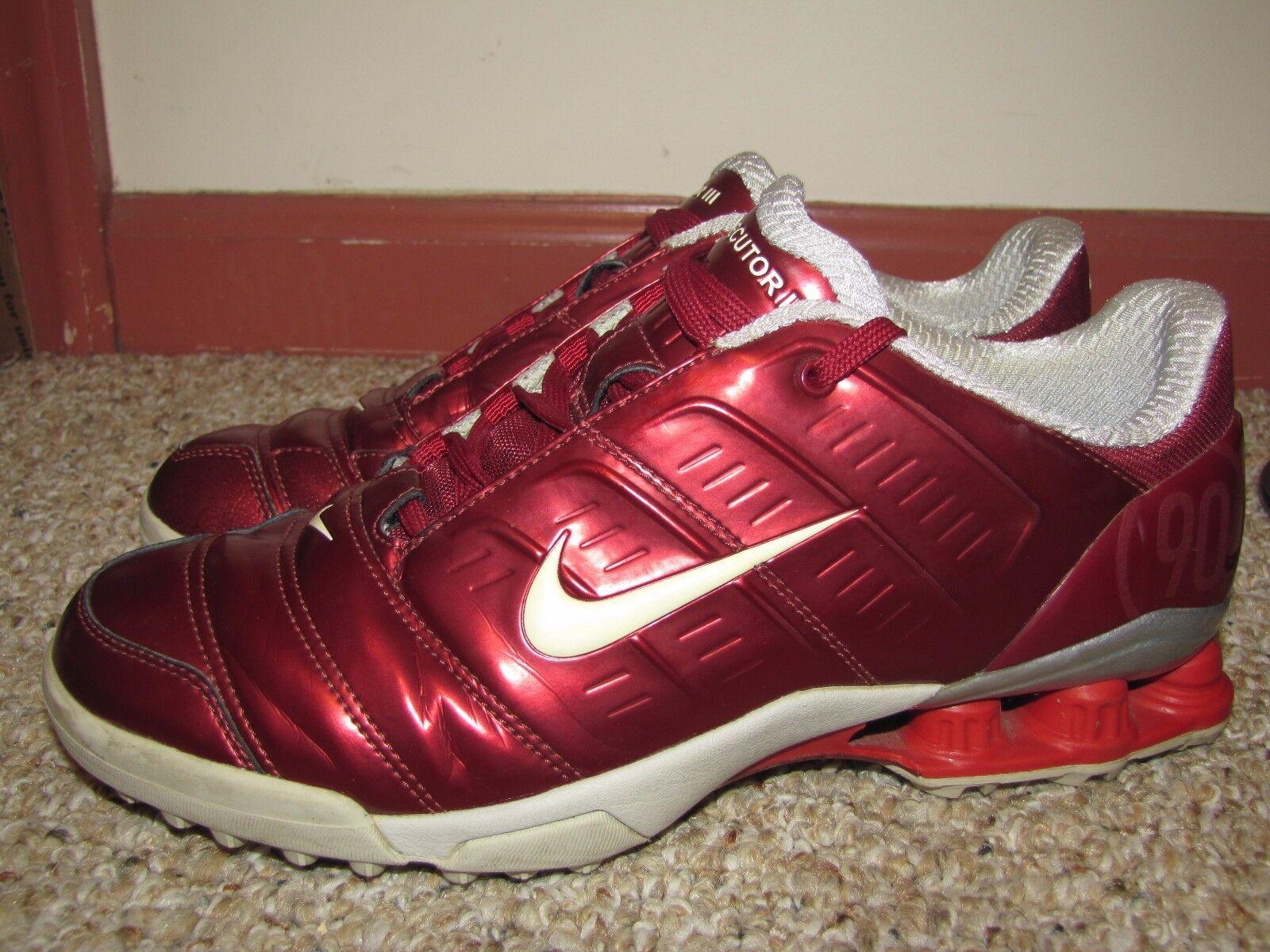 Nike Shox Secutor III Fútbol Tacos Zapatos Interiores Zapatillas Us 9 8