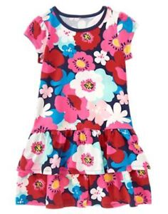 NWT-Gymboree-Mix-N-Match-Floral-Ruffled-Dress-Kid-Girls-and-Toddler-Sizes