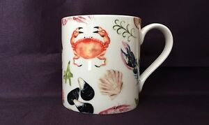 Bone China Seaside Shells Chintz Pattern Mug Hand Decorated in Wales - <span itemprop=availableAtOrFrom>Holywell, United Kingdom</span> - Returns accepted Most purchases from business sellers are protected by the Consumer Contract Regulations 2013 which give you the right to cancel the purchase within 14 days after the day - Holywell, United Kingdom