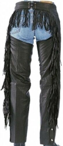 733 Ladies Butt Fringe Leather Chaps