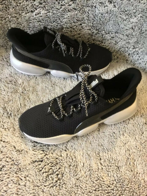 Hot new women's size 8 Puma hybrid Flynit athletic gym shoes retail:$70