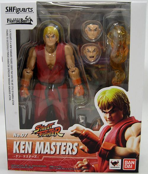 Street Fighter SH Figuarts Ken Masters Action Figure  7
