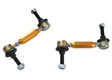 Whiteline KLC141 Sway Bar End Link Kit Adjustable Steel Ball Rear G35 350Z 370Z