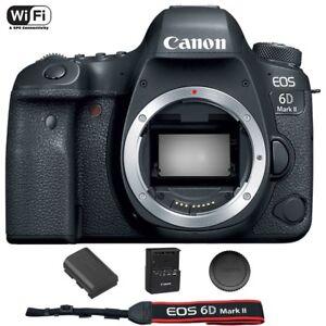 Canon EOS 6D Mark II / MK 2 Digital SLR Camera (Body) Brand New 696579072793