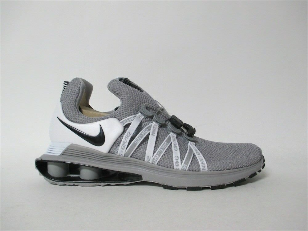 Nike Shox Gravity Wolf Grey Black White Sz 12 AR1999-010