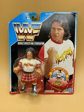 """New Official WWF Rowdy Roddy Piper action figure with /""""Piper Punch/"""""""