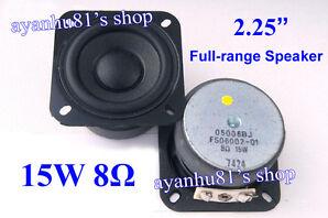 """2.25"""" inch 8Ohm 8Ω 15W Full Range Audio Speaker Loudspeaker for SONY Bluetooth"""