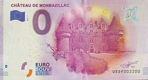 BILLET-0-EURO-CHATEAU-DE-MONTBAZILLAC-2016-NUMERO-2200