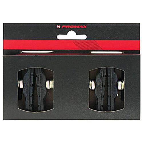 Promax 4x Bremsbeläge V-Brake 3-farbig 70mm 2 Paar Fahrrad Bremsschuhe