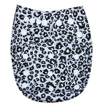 See Diapers Organic Bamboo Terry Baby Cloth Diaper With 2 Terry Inserts Cheeta