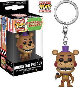Five Nights At Freddy's Pizzeria Simulkator - Rockstar Freddy - Schlüsselanhänge
