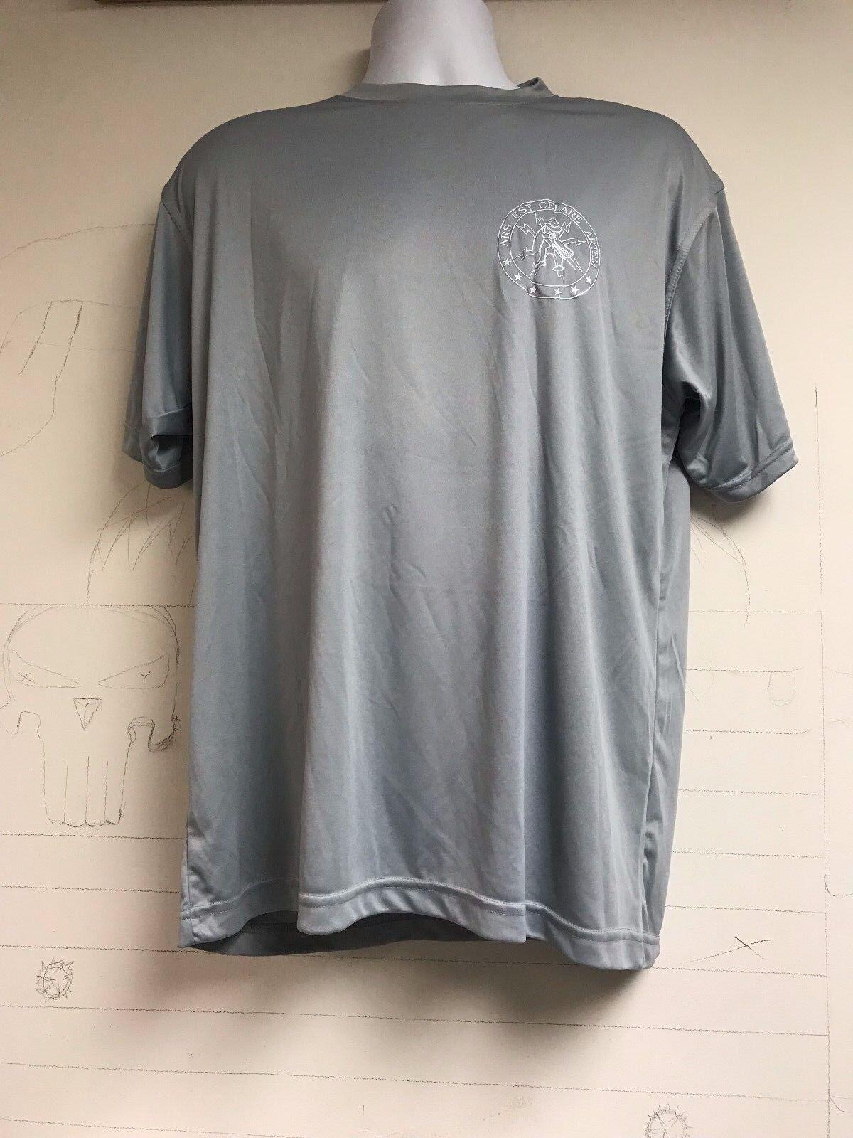 CIA CCG Covert Communications Group Charcoal Gray Short Sleeve T Shirt