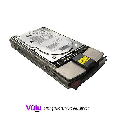 "HP COMPAQ 18.2GB 10K SCSI 3.5/"" DRIVE 80 PIN ULTRA320 CADDY TRAY ZZ"