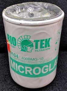 BIOTEK 400BMG-10 70104 Fuel Filter Microglass