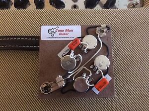 sg wiring capacitor and 50 s pre-wired 50s wiring harness - fits sg gibson style w ... #5