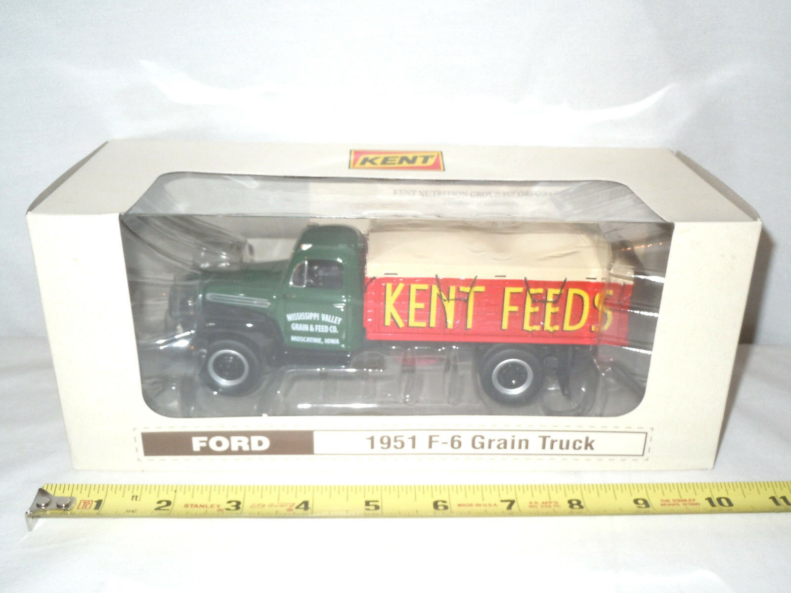 Kent Feeds 1951 Ford F-6 Grain Truck  By First Gear 1 34th Scale