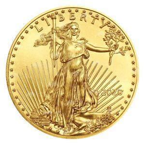 1 oz 2020 American Eagle Gold Coin